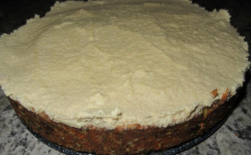 Carrot Cake – Vegan – Raw orcooked